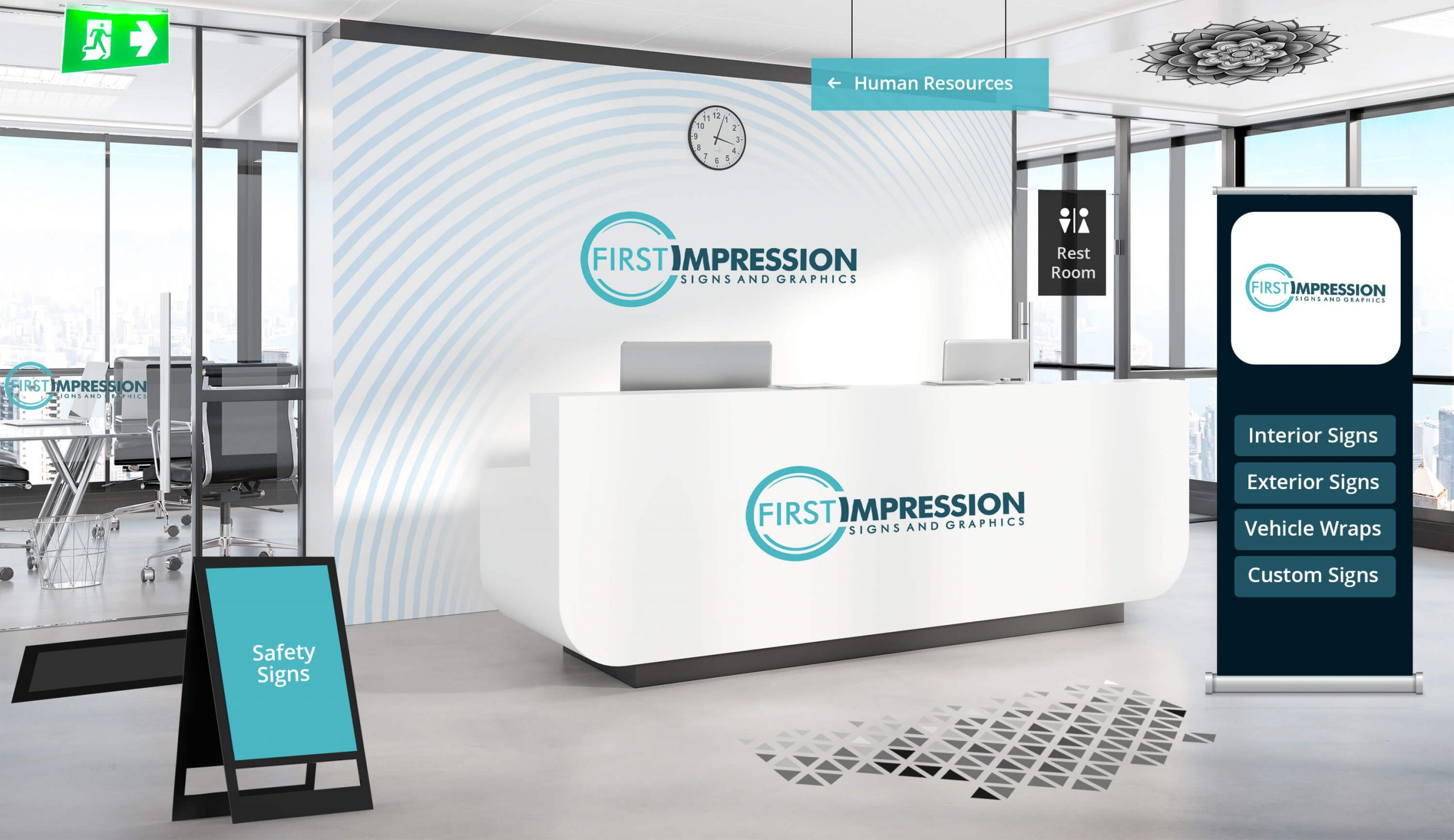Interior Signs interactive Scaled in Omaha
