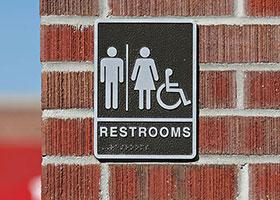 Restroom Signs in Omaha